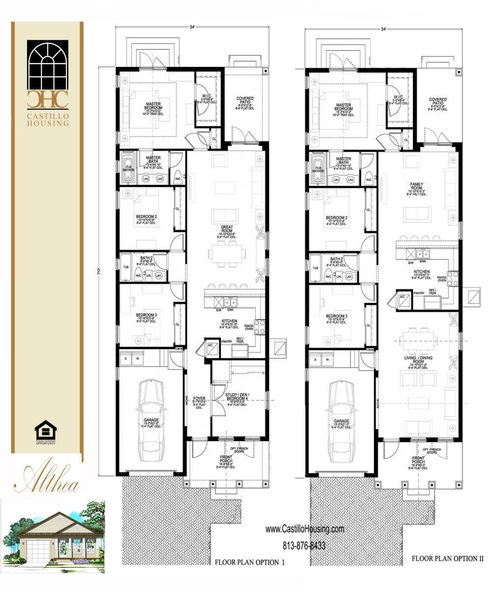 Floor Plans,1,001 SQ FT TO 2,000 SQ FT,1009