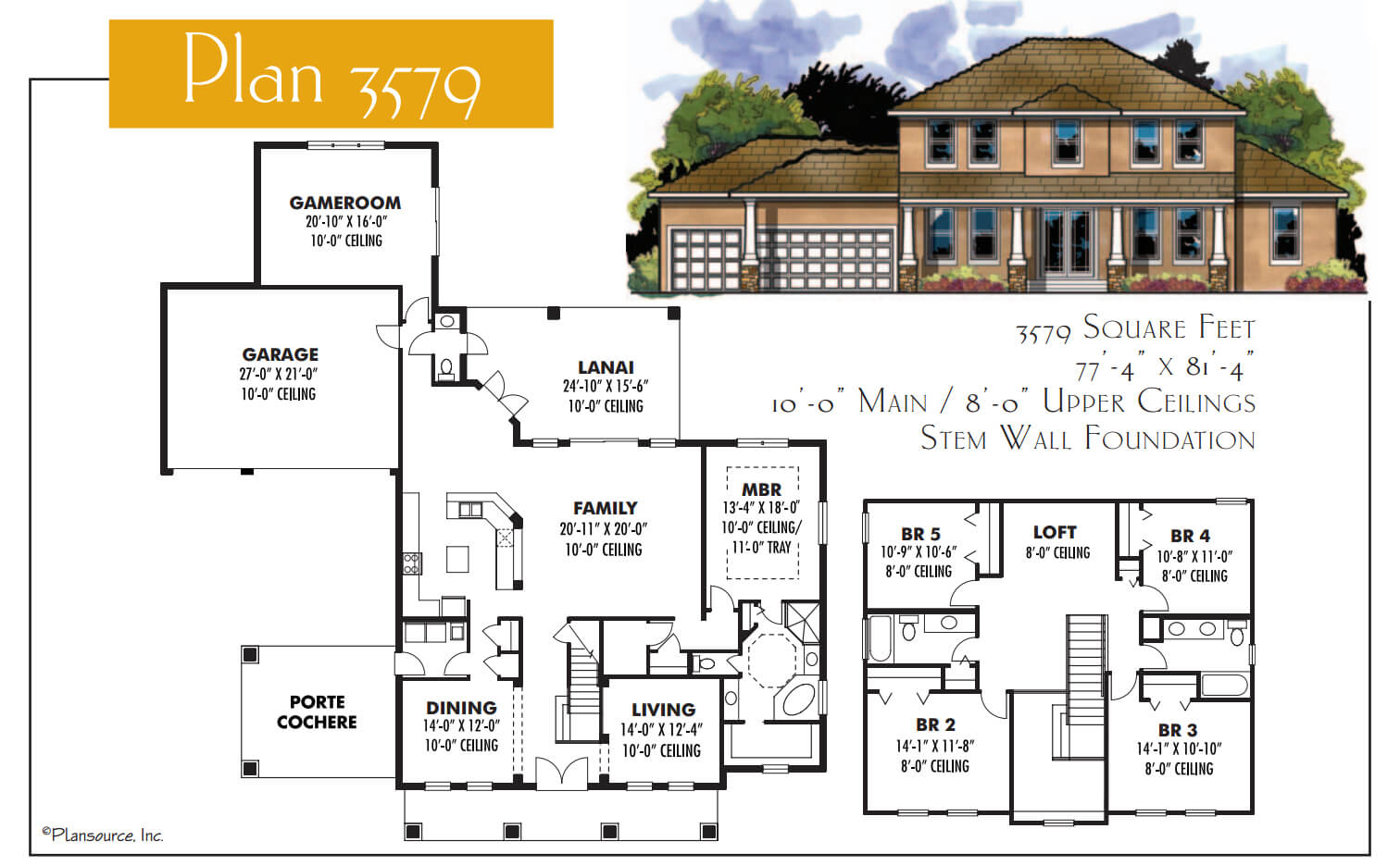 Floor Plans,3,501 SQ FT TO 4,000 SQ FT,1099