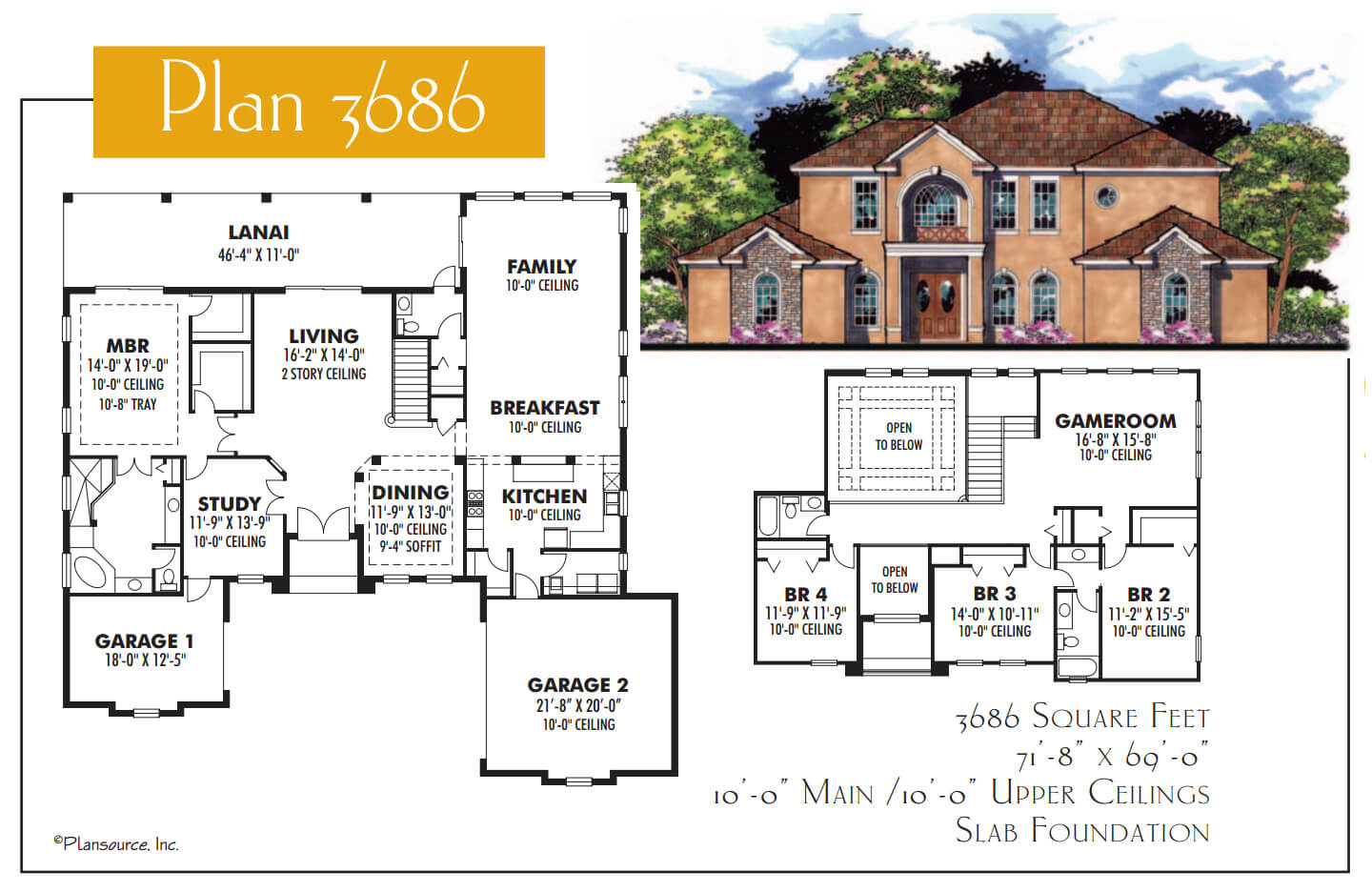 Floor Plans,3,501 SQ FT TO 4,000 SQ FT,1101