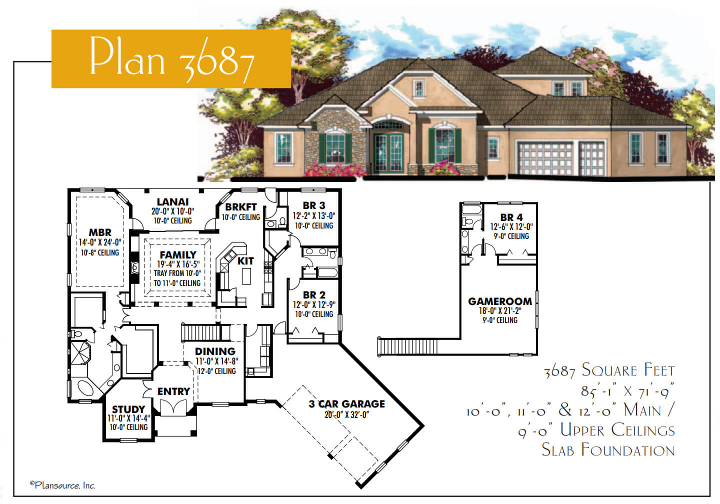 Floor Plans,3,501 SQ FT TO 4,000 SQ FT,1102