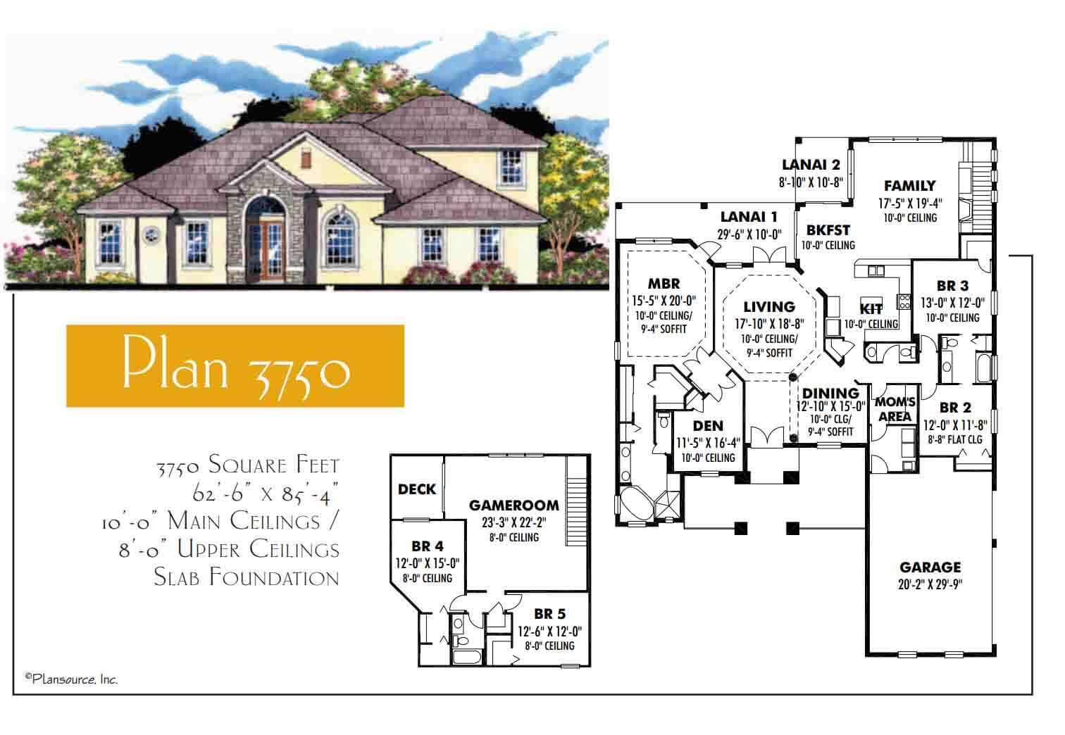 Floor Plans,3,501 SQ FT TO 4,000 SQ FT,1104