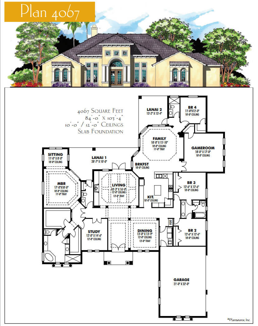 Floor Plans,4,001 SQ FT AND ABOVE,1112