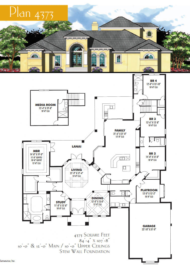 Floor Plans,4,001 SQ FT AND ABOVE,1115