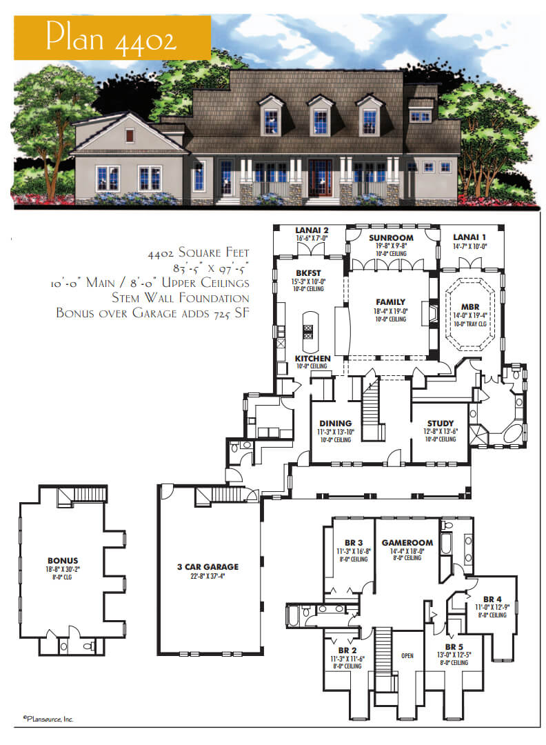 Floor Plans,4,001 SQ FT AND ABOVE,1116