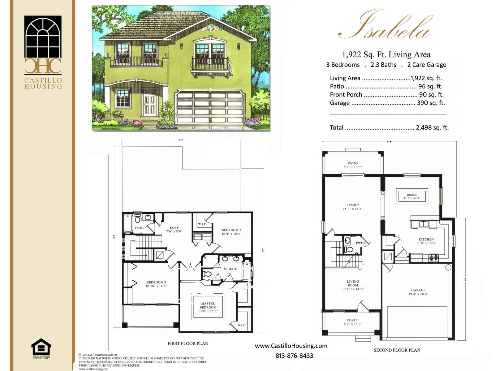 Floor Plans,1,001 SQ FT TO 2,000 SQ FT,1011