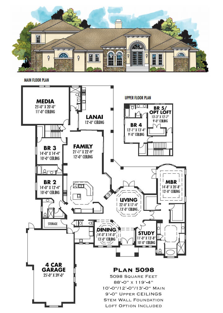 Floor Plans,4,001 SQ FT AND ABOVE,1123