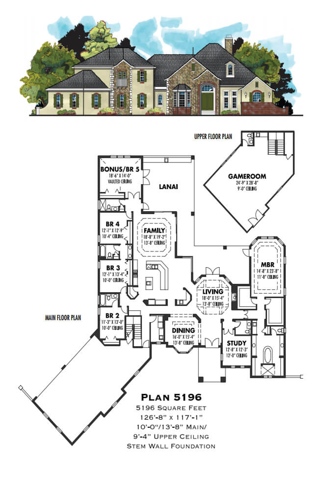 Floor Plans,4,001 SQ FT AND ABOVE,1124