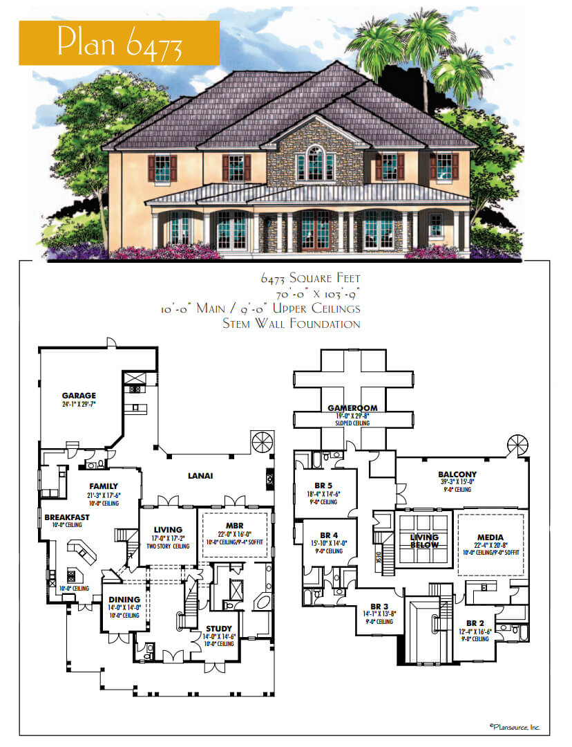 Floor Plans,4,001 SQ FT AND ABOVE,1127