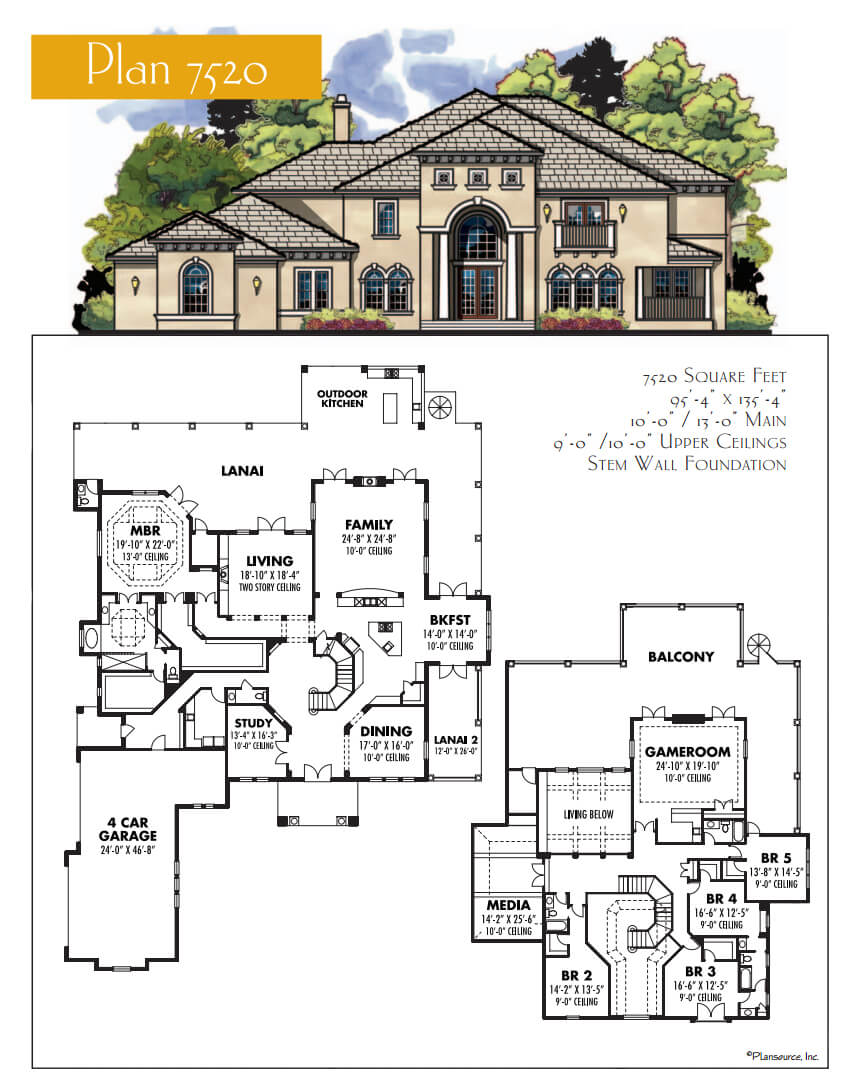 Floor Plans,4,001 SQ FT AND ABOVE,1128