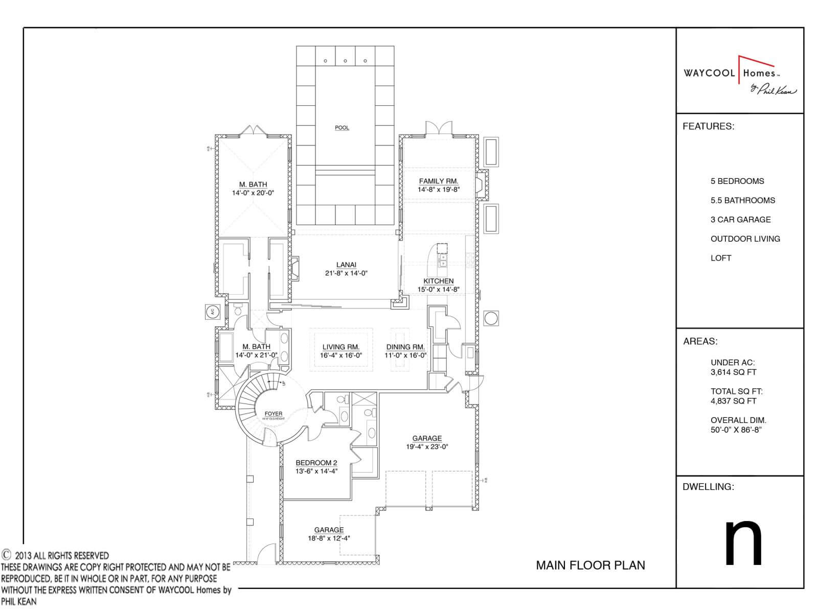 Floor Plans,WAYCOOL HOMES BY PHIL KEAN,1175