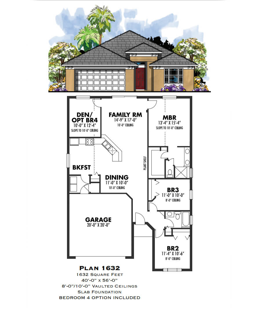 Floor Plans,1,001 SQ FT TO 2,000 SQ FT,1018