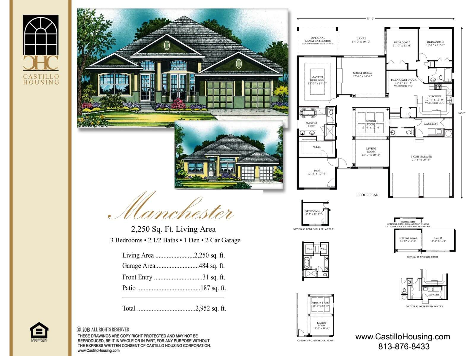 Floor Plans,2,001 SQ FT TO 2,500 SQ FT,1028