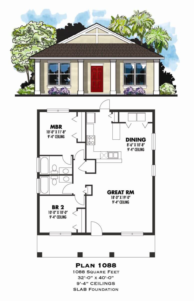 Florida, ,Floor Plans,1,001 SQ FT TO 2,000 SQ FT,1002