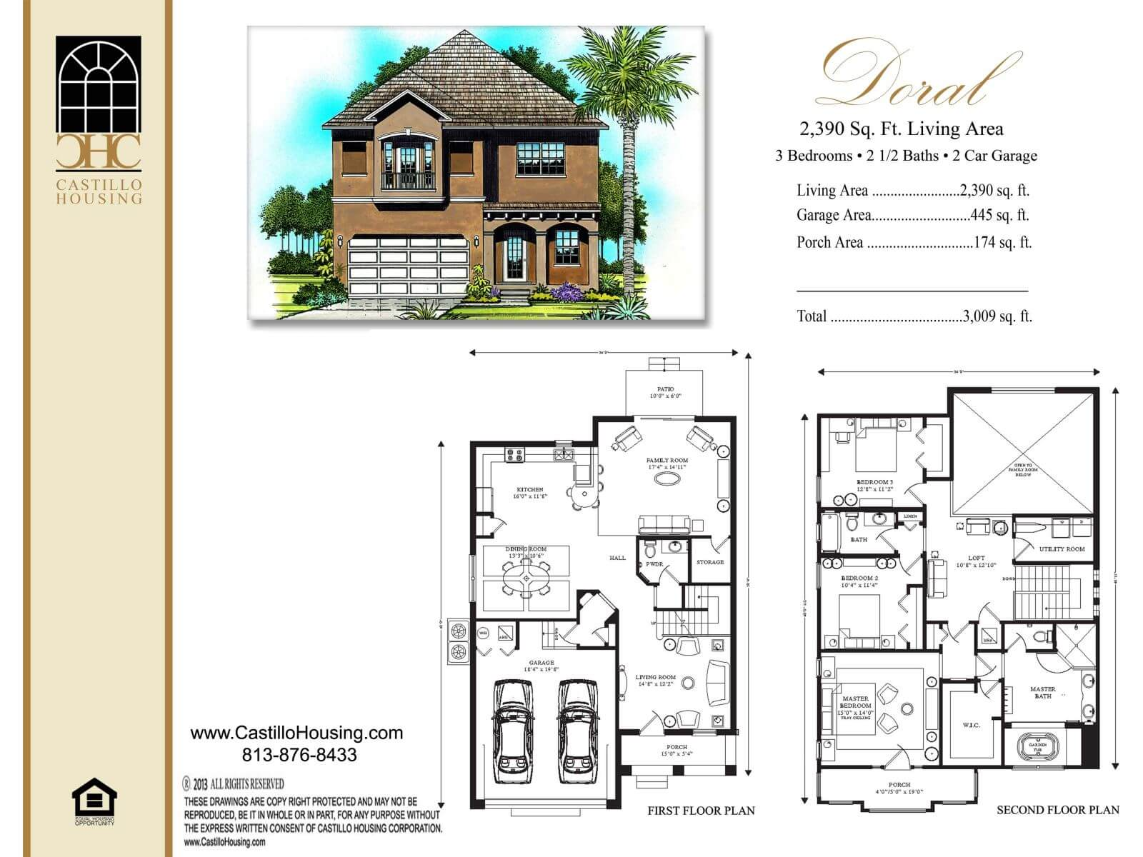 Floor Plans,2,001 SQ FT TO 2,500 SQ FT,1029