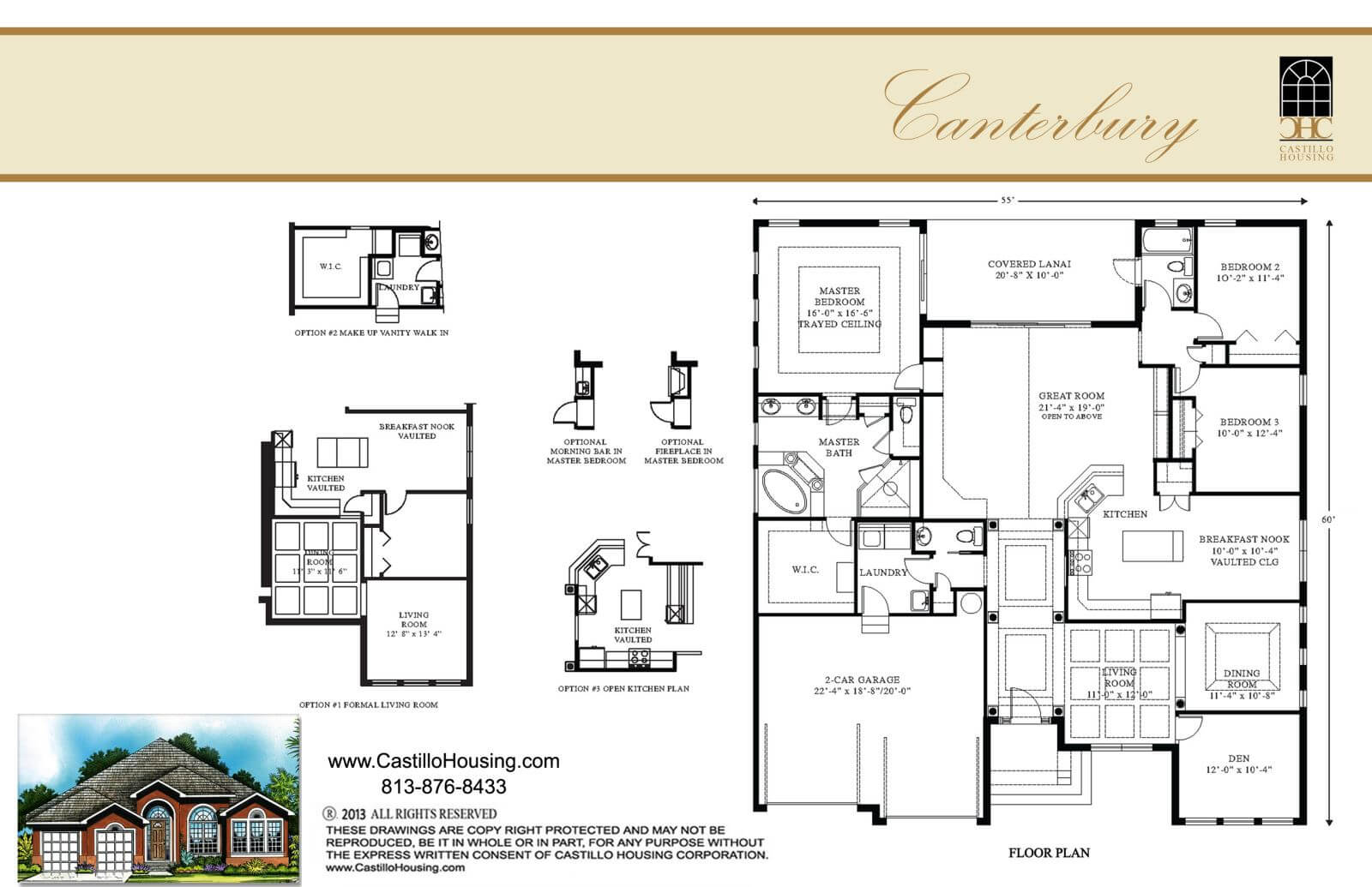 Floor Plans,2,001 SQ FT TO 2,500 SQ FT,1030