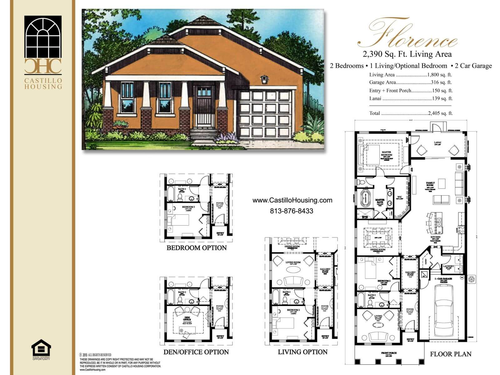 Floor Plans,2,001 SQ FT TO 2,500 SQ FT,1031