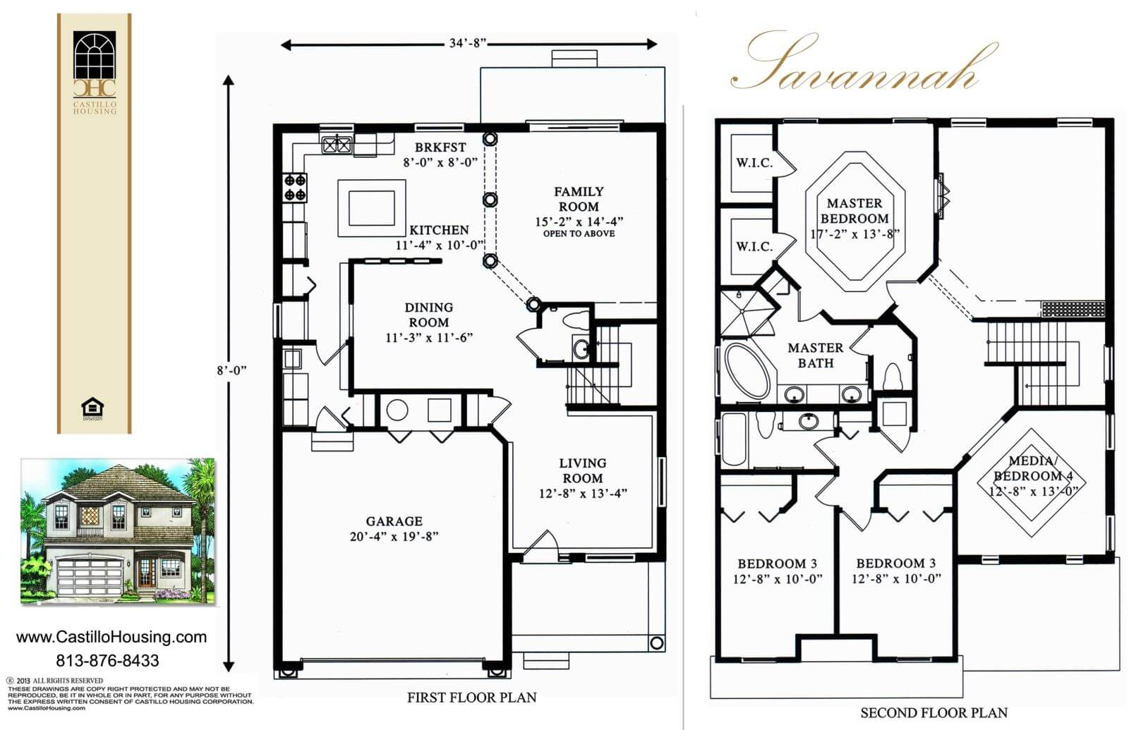 Floor Plans,2,001 SQ FT TO 2,500 SQ FT,1033