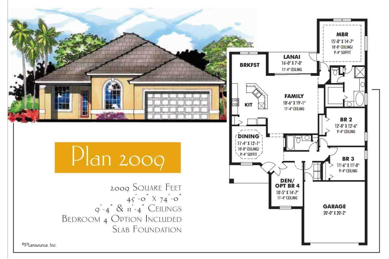 Floor Plans,2,001 SQ FT TO 2,500 SQ FT,1044