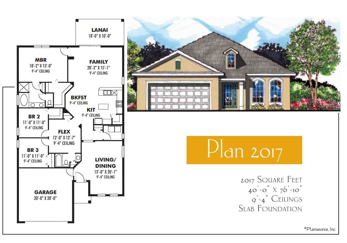 Floor Plans,2,001 SQ FT TO 2,500 SQ FT,1045