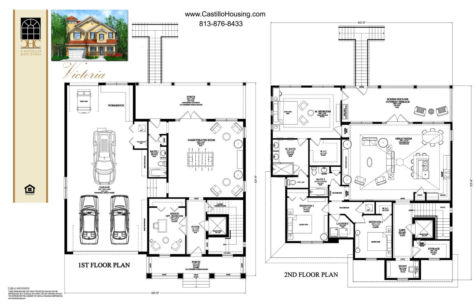 Floor Plans,2,501 SQ FT TO 3,000 SQ FT,1049