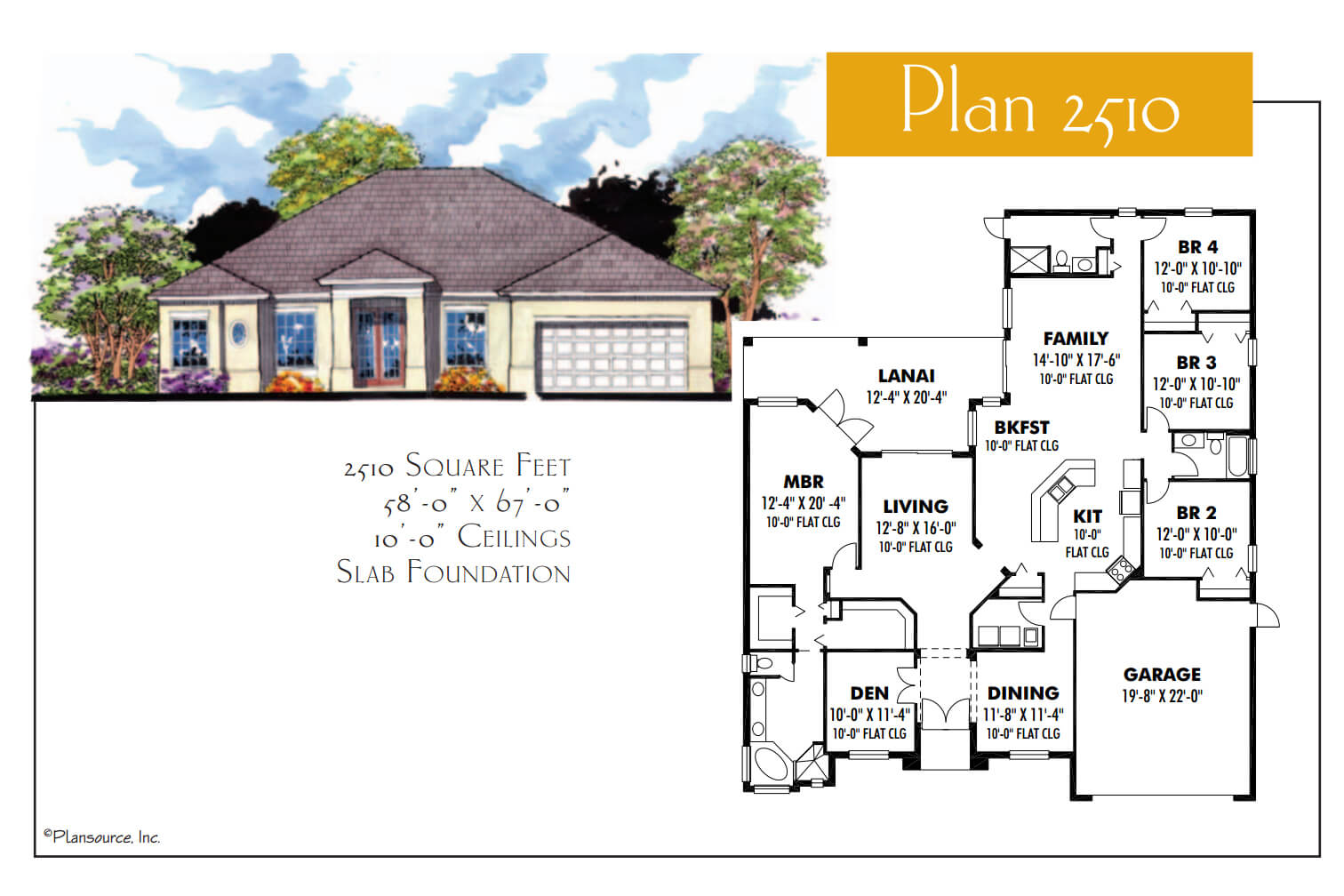 Floor Plans,2,501 SQ FT TO 3,000 SQ FT,1050