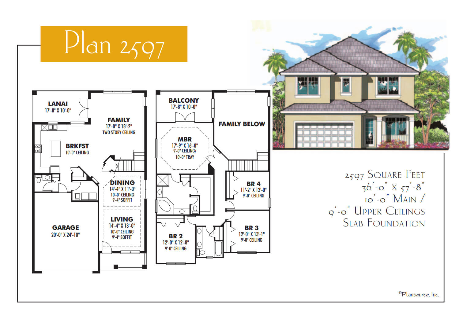 Floor Plans,2,501 SQ FT TO 3,000 SQ FT,1058