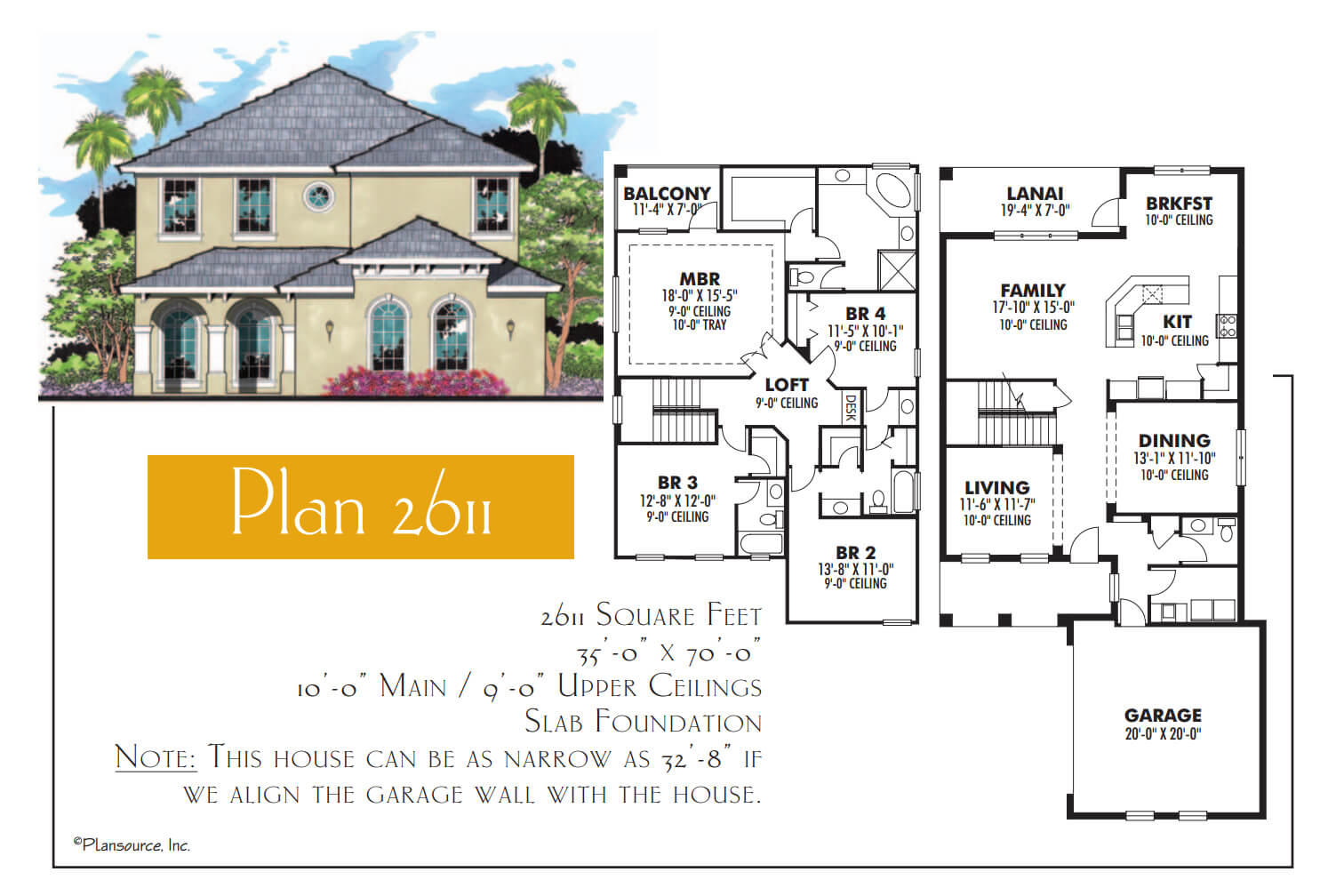 Floor Plans,2,501 SQ FT TO 3,000 SQ FT,1061