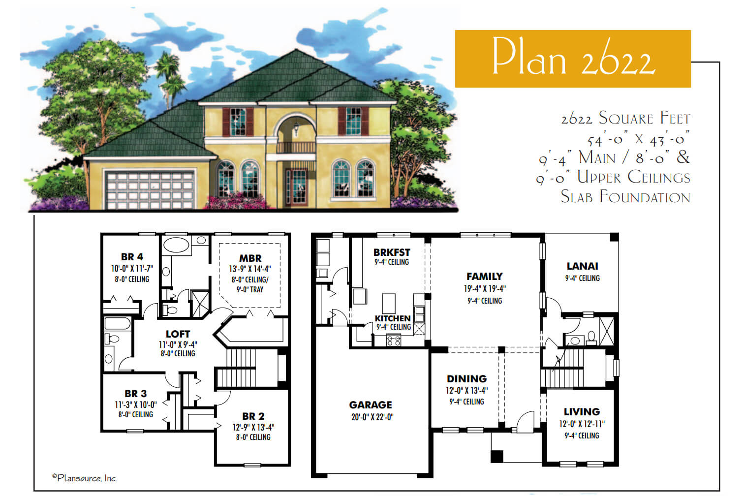 Floor Plans,2,501 SQ FT TO 3,000 SQ FT,1064
