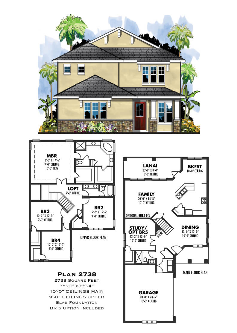 Floor Plans,2,501 SQ FT TO 3,000 SQ FT,1065