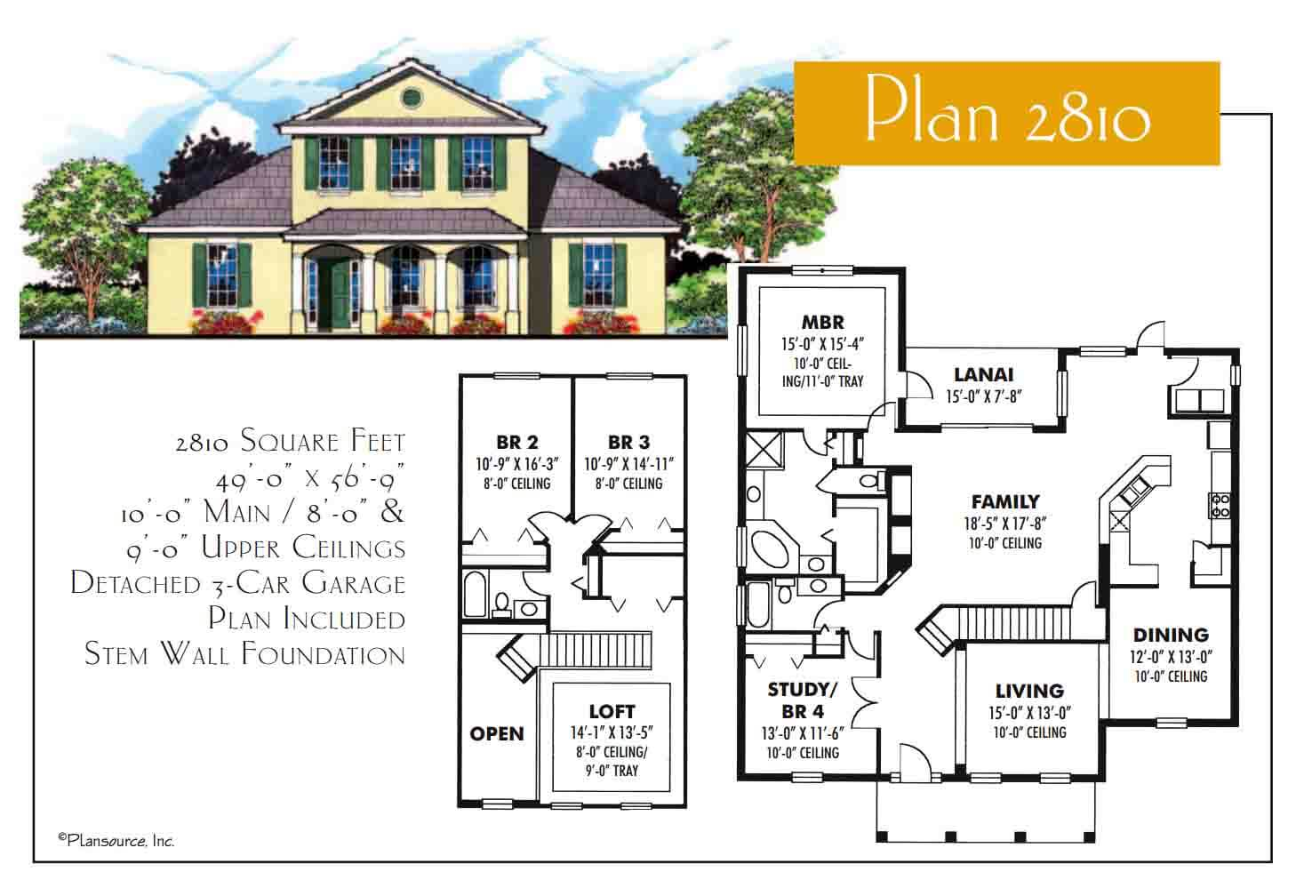 Floor Plans,2,501 SQ FT TO 3,000 SQ FT,1072