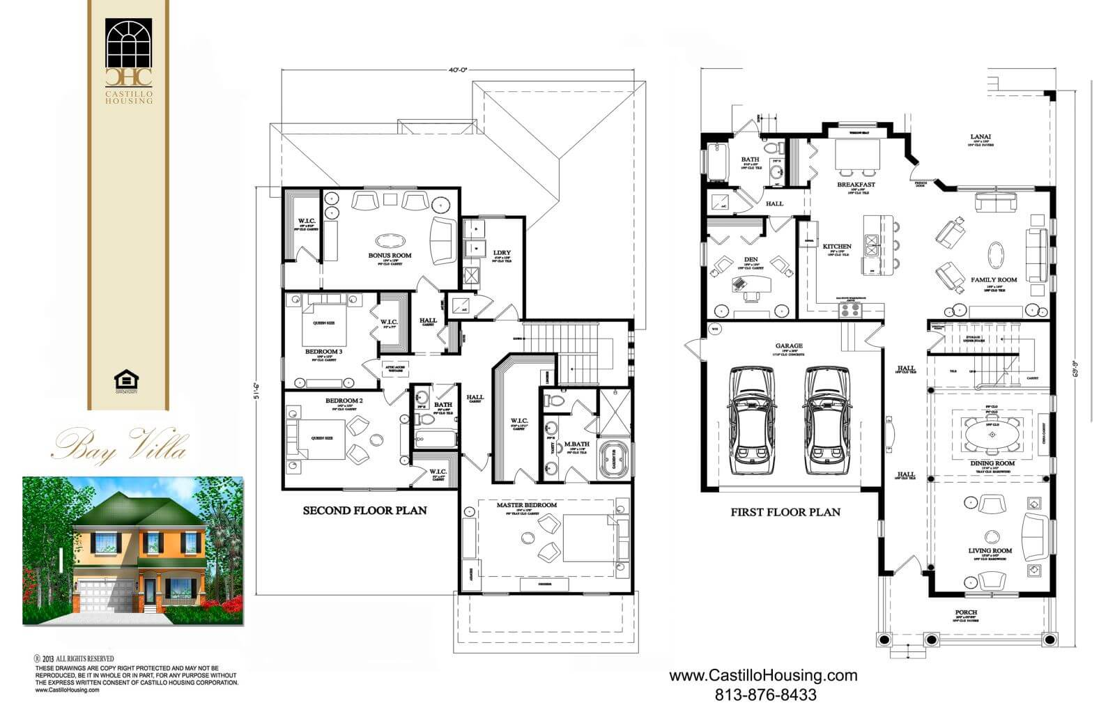 Floor Plans,3,001 SQ FT TO 3,500 SQ FT,1078