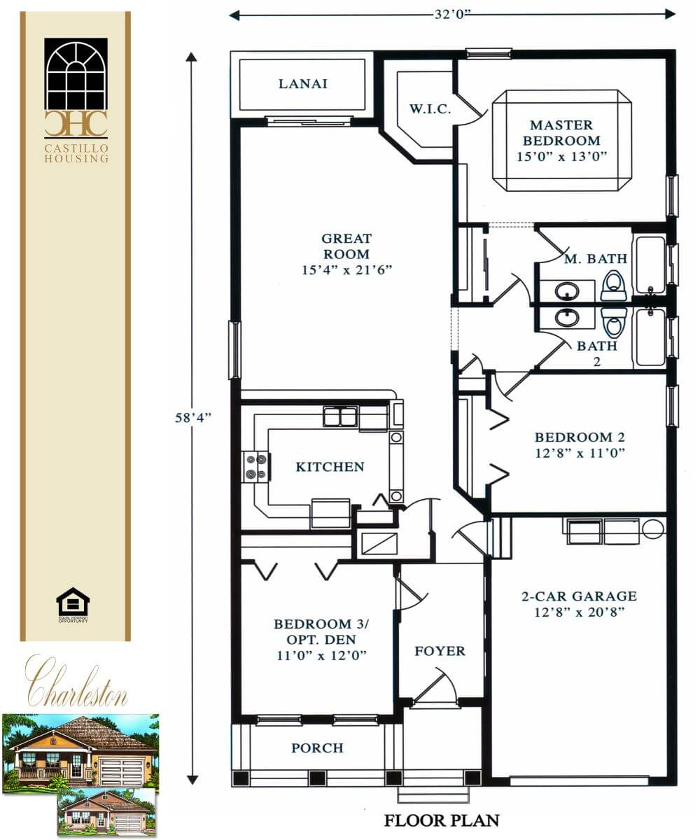 Floor Plans,1,001 SQ FT TO 2,000 SQ FT,1008