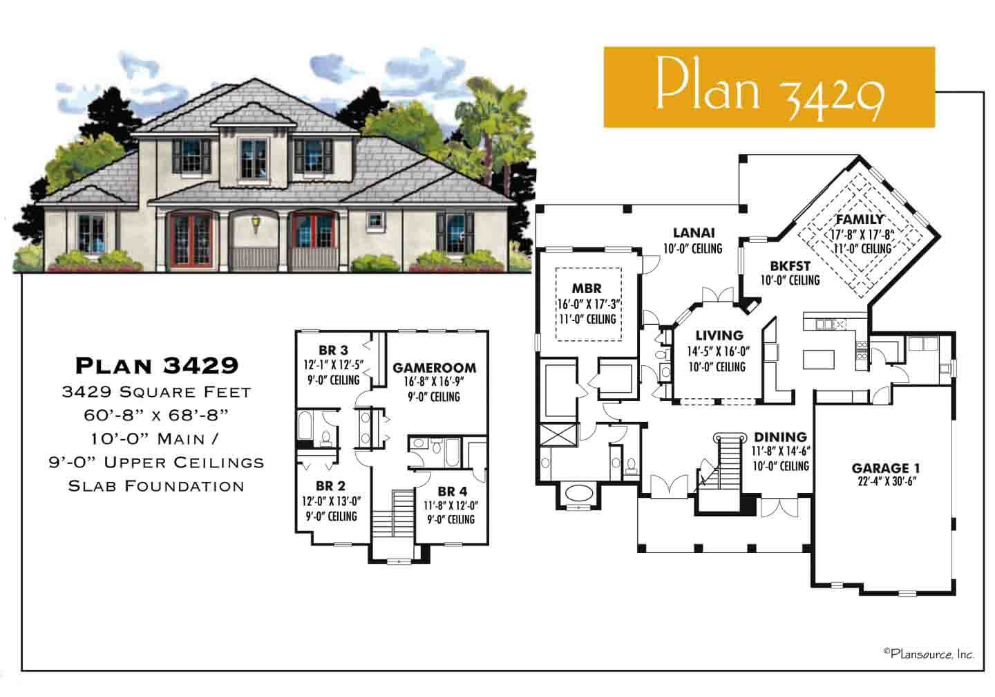 Floor Plans,3,001 SQ FT TO 3,500 SQ FT,1089