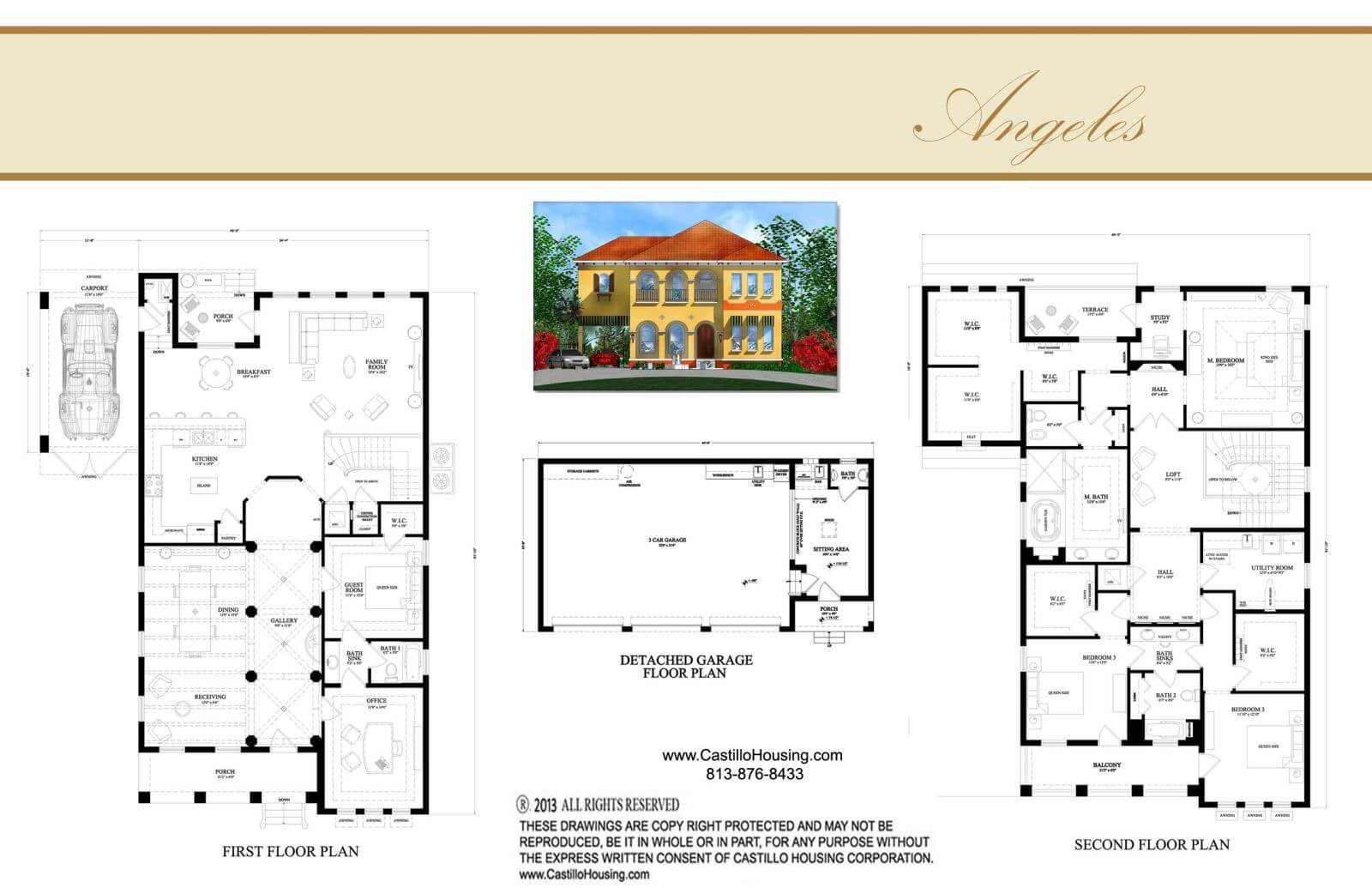 Floor Plans,3,501 SQ FT TO 4,000 SQ FT,1091