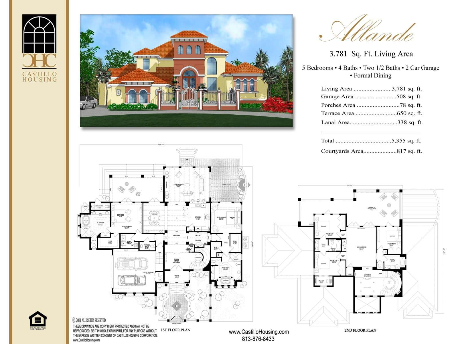 Floor Plans,3,501 SQ FT TO 4,000 SQ FT,1092