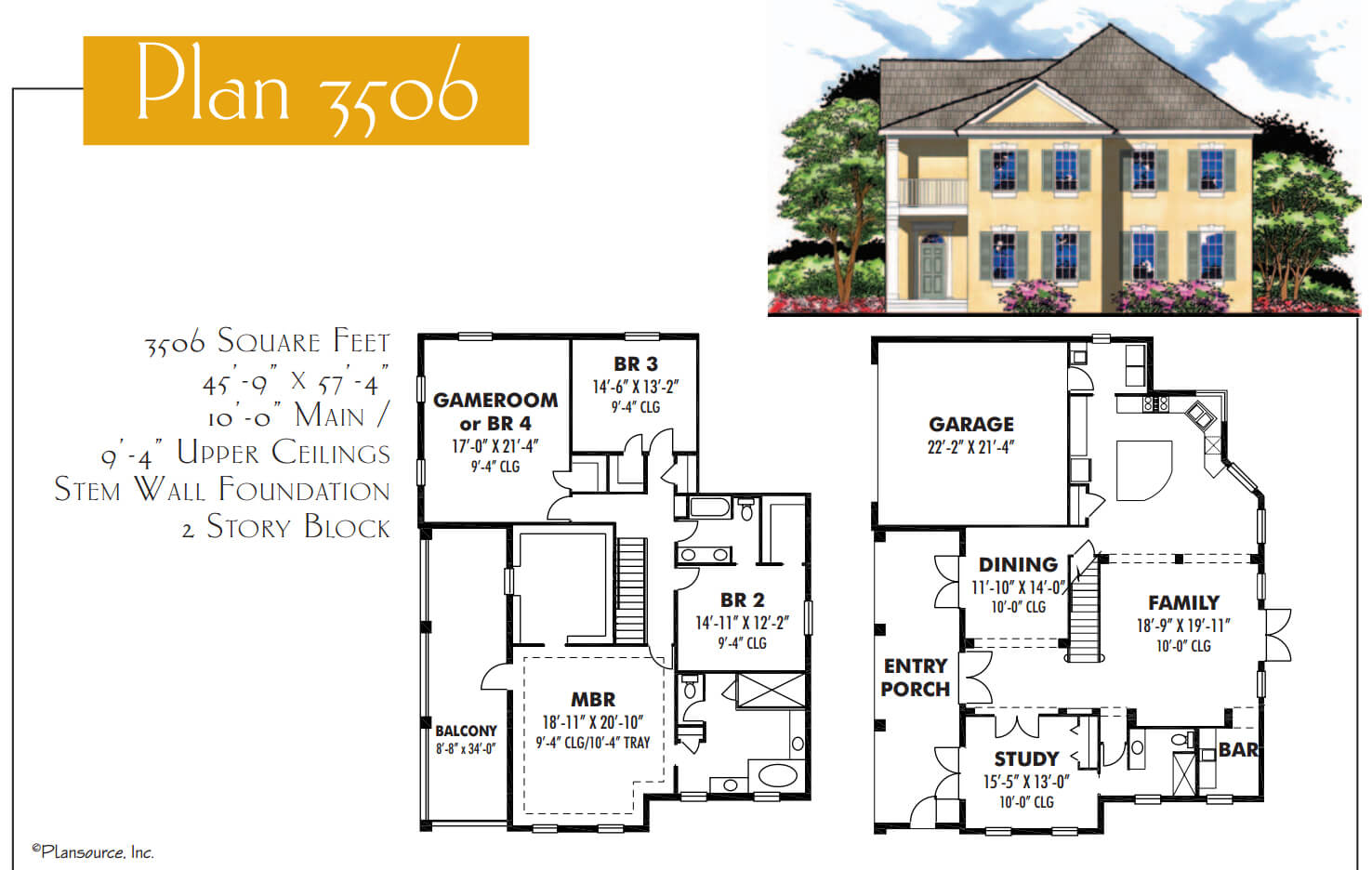 Floor Plans,3,501 SQ FT TO 4,000 SQ FT,1094