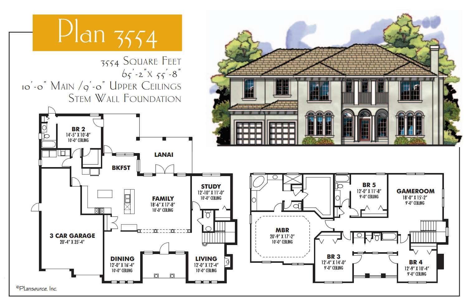 Floor Plans,3,501 SQ FT TO 4,000 SQ FT,1098